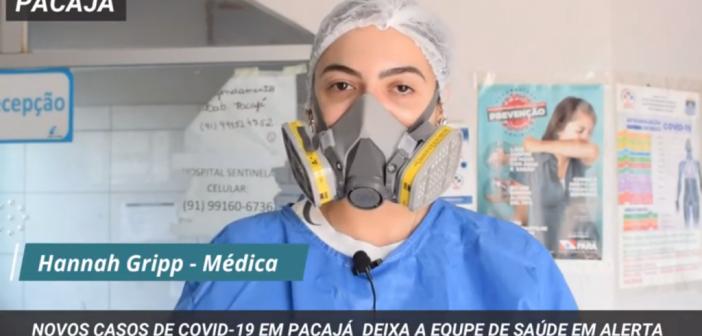 Novos Casos de Covid-19 em Pacajá Deixa a Equipe de Saúde em Alerta